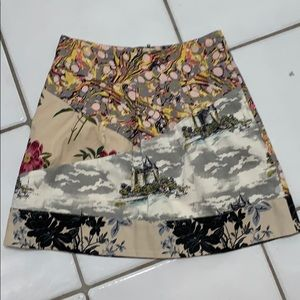 Preowned Anthropologie Flora Fortress skirt 2